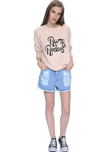 Sweatshirt-Mink Pink
